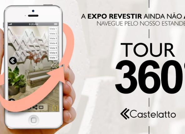 Notícias Relacionadas: EXPO REVESTIR 2019: Faça um tour 360º por nosso estande