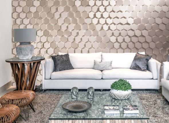 Notícias Relacionadas: Linha Polygon uma referência de revestimento hexagonal